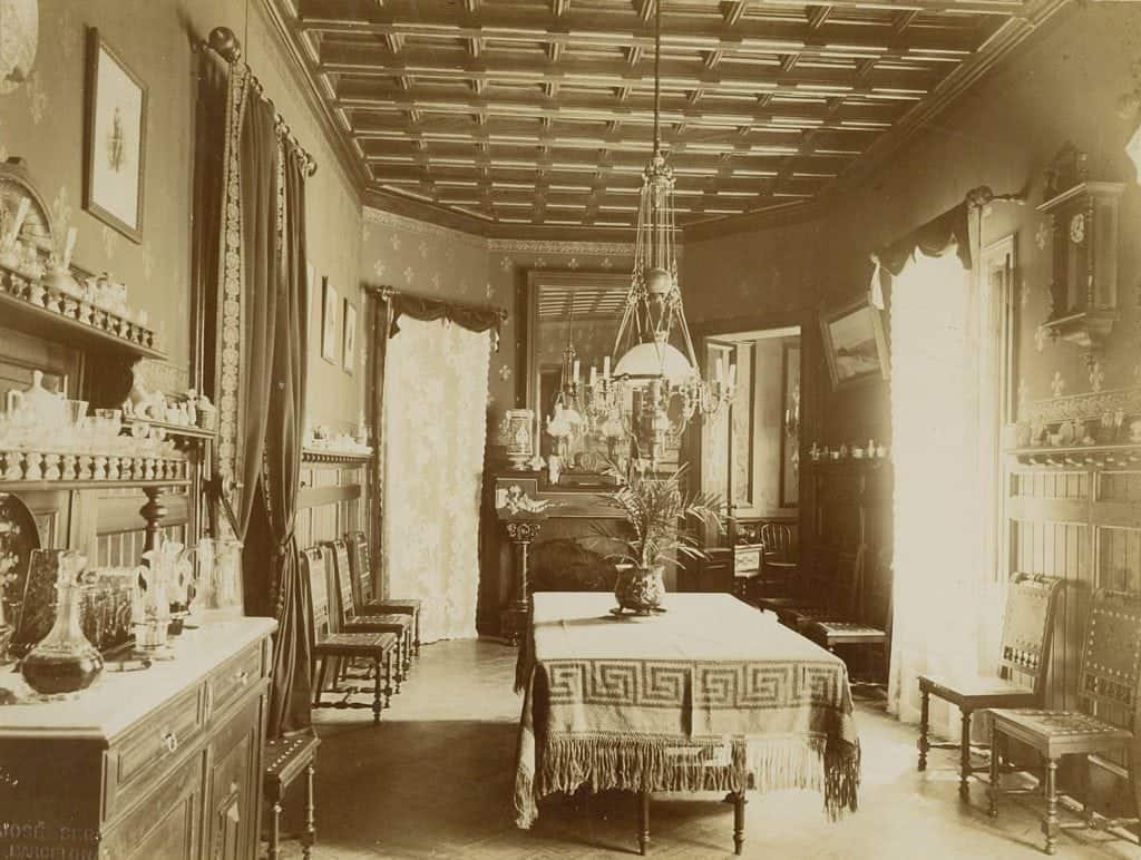 El antiguo hall del hotel medium sitges park