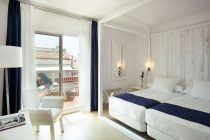 Double Room with Terrace of the Hotel Medium Sitges Park