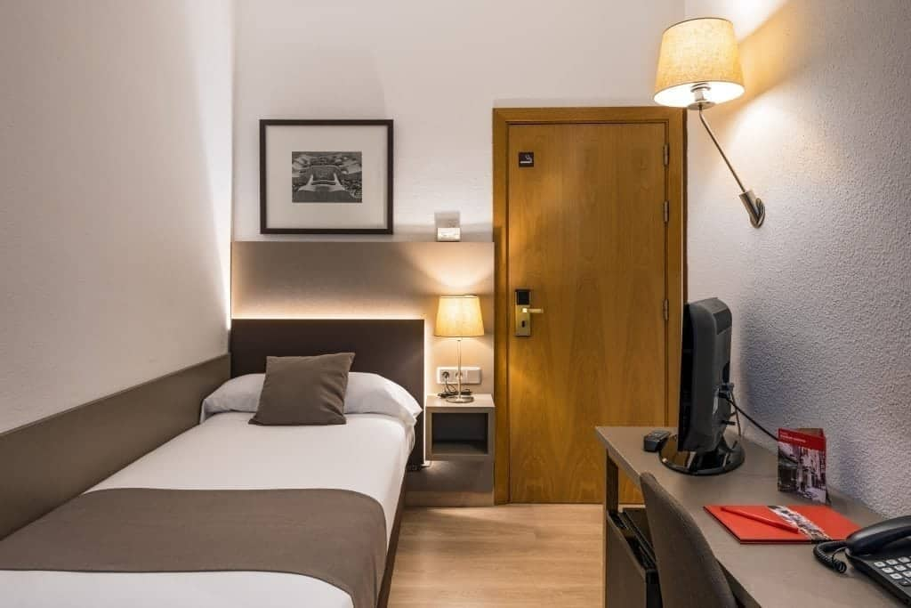 Single Room at the Hotel Prisma Barcelona
