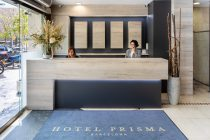 Reception of the Hotel Prisma Barcelona