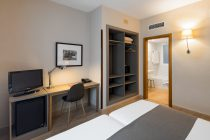 Double Room of the Hotel Prisma Barcelona