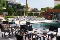 Bar Piscina dell´hotel medium sitges park